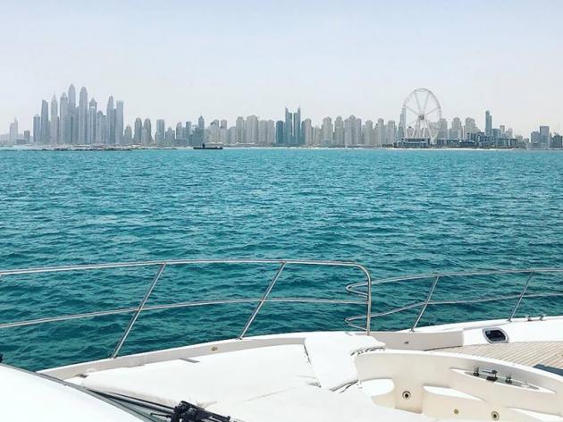 The Marina Dubai Yacht